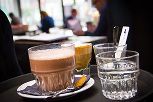 lunchkaart menu nap amsterdam ijburg